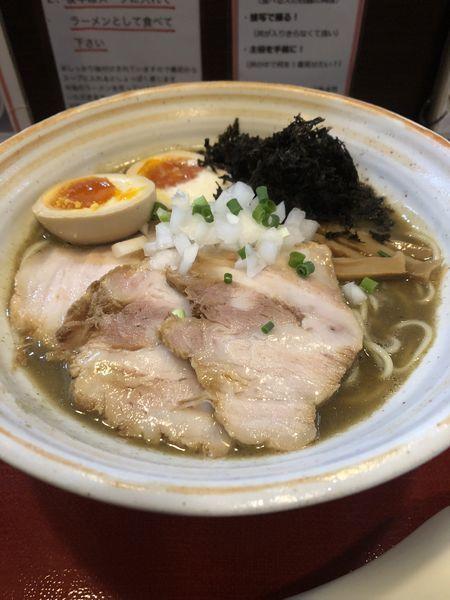 「特製煮干麺¥1,100」@麺屋むどうの写真