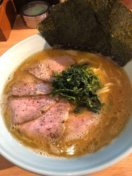 「チャーシュー麺大1000円、硬め濃いめ」@横濱家系ラーメン 友喜家の写真