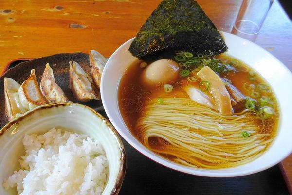 「中華そばBセット880円+味玉100円」@麺や食堂の写真