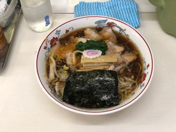 「チャーシュー麺」@青島食堂 秋葉原店の写真