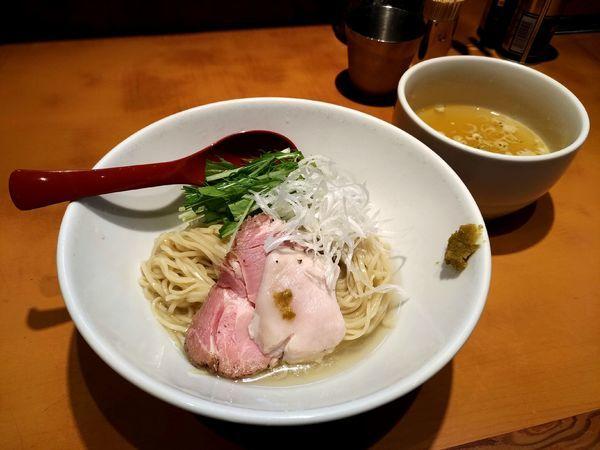 「塩清湯つけ麺」@麺屋 翔 品川店の写真