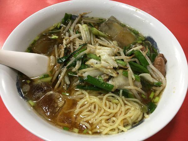 「冷たい野菜ソバ¥700」@柳華の写真