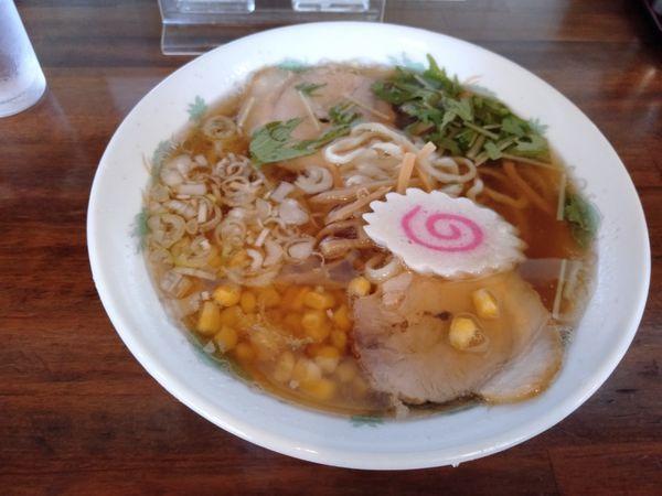 「ラーメン(醤油)」@ラーメン雅の写真