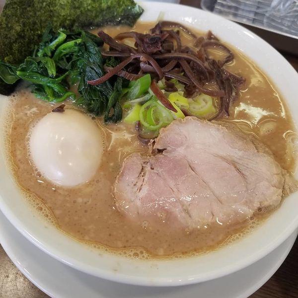 「ラーメン¥780+味玉¥100」@うまいヨ ゆうちゃんラーメンの写真