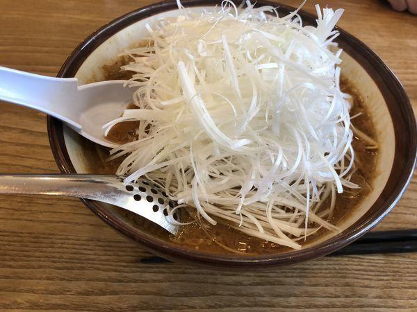 「ネギ味噌」@横浜らーめん 松本家の写真