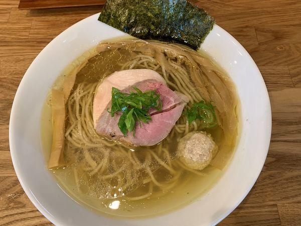 「地鶏(塩)」@自家製麺 純の写真