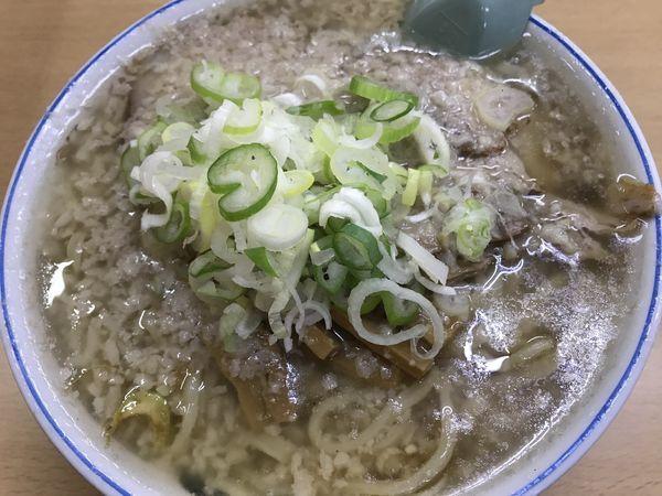 「老麺(油入り)」@安福亭 柏町本店の写真