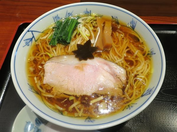 「中華そば 750円」@食煅 もみじの写真