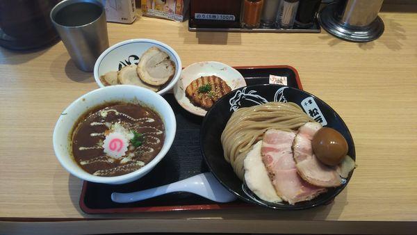 「特製カレーつけ麺+バラチャーシュー」@松戸富田製麺 ららぽーとTOKYO-BAY店の写真