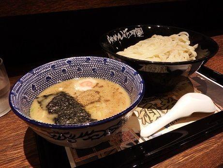 「濃厚魚介豚骨つけめん頑者(並)麺200g」@らあめん花月嵐 桜新町店の写真
