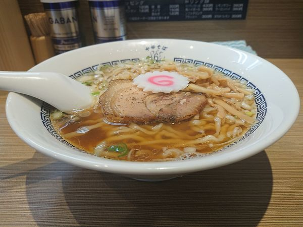「中華そば 白(手もみ麺)」@中華そば 六感堂の写真