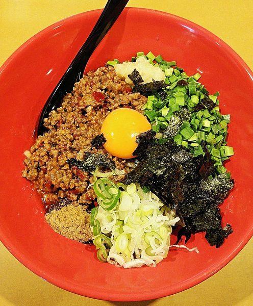 「台湾まぜそば(マッスル麺) 830円」@つけめんや 泉の写真