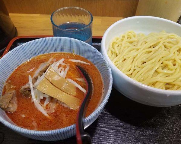 「辛味噌つけめん¥900」@味噌麺処 花道の写真