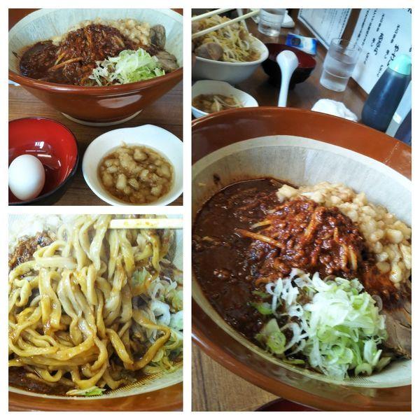 「【3連休限定】麻婆油そば大+麺増し」@ラーメンの店 どでんの写真