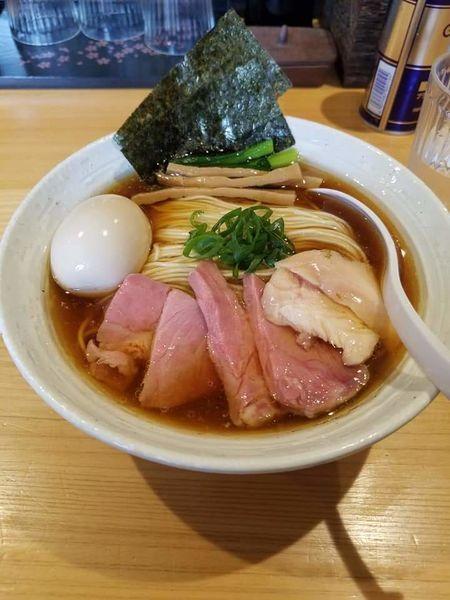 「特製らー麺(醤油)¥980+中盛¥50」@麺屋 さくら井の写真