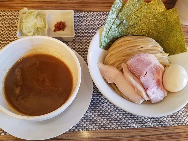 「特製つけ麺¥1000+中盛(300g)¥100」@つけ麺 和の写真