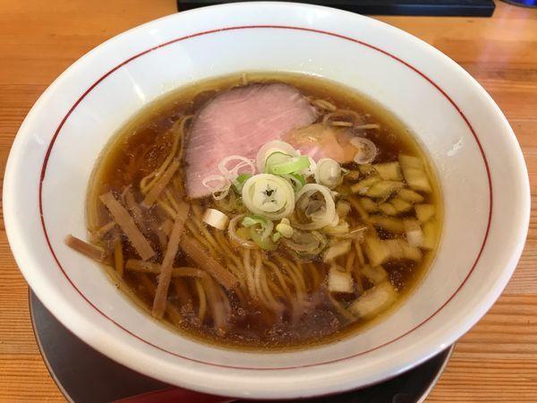 「鶏中華そば  720円」@ラァメン ぼーんずの写真