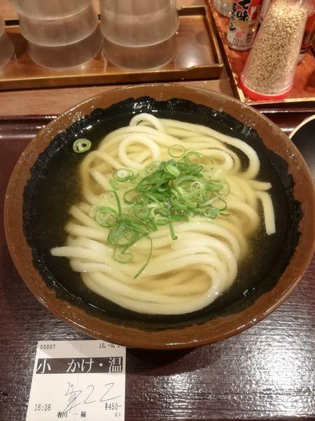 「温かけ 1玉 450円」@香川 一福 神田店の写真