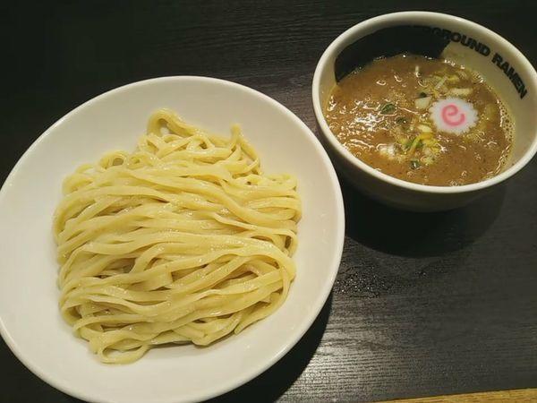「魚介豚骨のつけ麺」@UNDERGROUND RAMENの写真