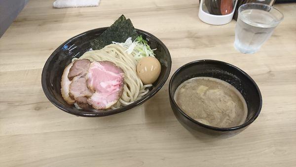 「特製豚骨鶏魚介つけ麺   大盛(400)」@麺処 有彩の写真