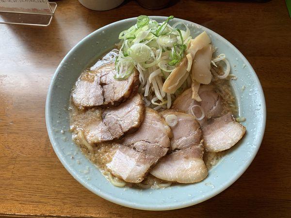 「醤油チャーシュー麺 1070円」@めんりゅうの写真