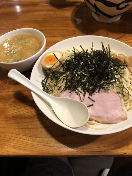 「【夏季数量限定】冷し味噌つけ麺¥780」@上州地鶏ラーメン 翔鶴の写真