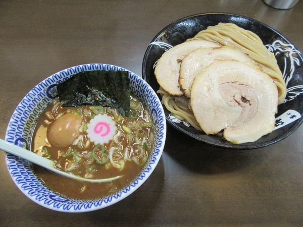 「特製濃厚つけ麺中盛(1210円)」@東池袋大勝軒 ROZEOの写真