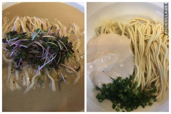 「【限定】冷や牡蠣+鮭白子の和え玉」@弘明寺丿貫の写真