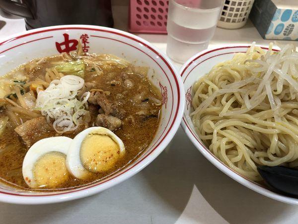 「冷やし五目味噌タンメン特盛」@蒙古タンメン 中本 渋谷店の写真