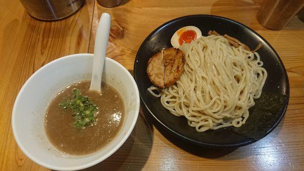 「とんこつつけ麺 730円」@SOUPNUTSの写真