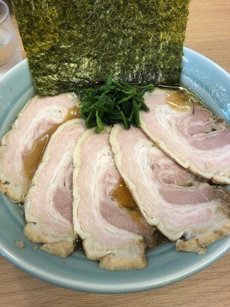 「チャーシュー麺並、硬め濃いめ」@らーめんTSUBAKIYAの写真
