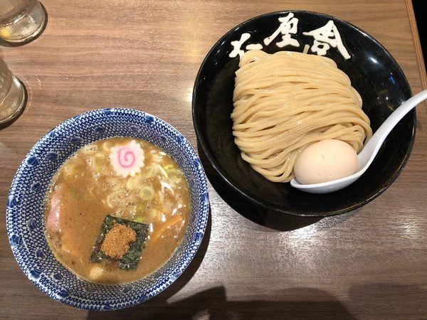 「味玉つけめん  並盛」@六厘舎TOKYO ソラマチ店の写真