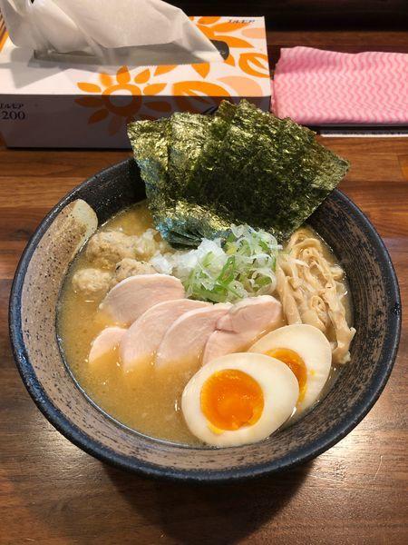 「特製濃厚鶏そば(醤油)」@麵屋 虎珀の写真