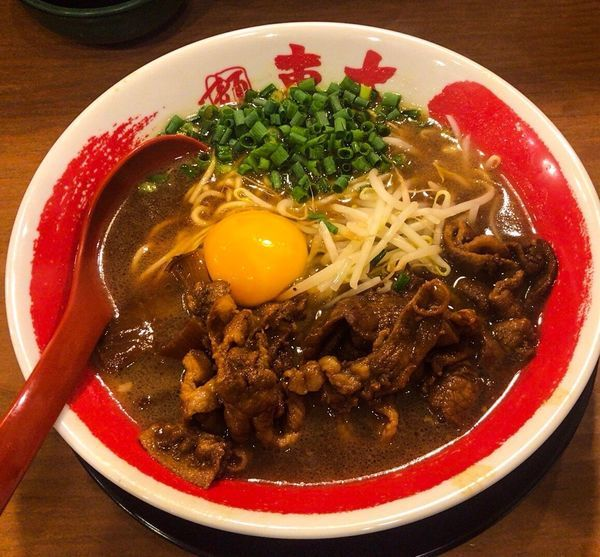 「徳島ラーメン肉増し」@ラーメン東大 京都店の写真