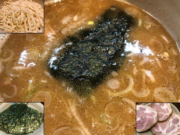 「つけ麺+チャーシュー+海苔」@麺屋吉左右の写真