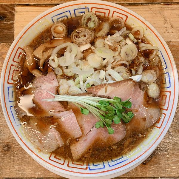 「サバ醤油そば」@サバ6製麺所 成城学園前店の写真