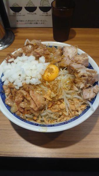 「汁なし カレーに変更(150円追加)」@びんびん豚の写真