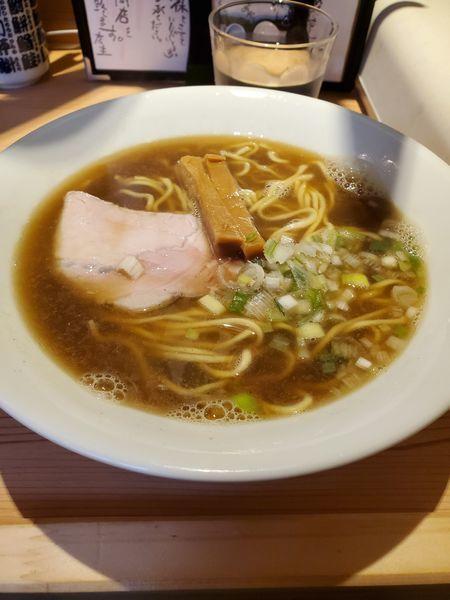「地魚醤油らぁめん」@江ノ島らぁ麺 片瀬商店の写真