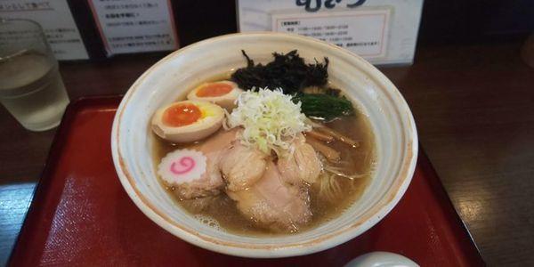 「特製魚介醤油」@麺屋むどうの写真