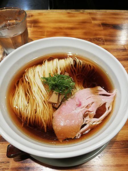「醤油煮干しそば 700円」@柴崎亭 梅ヶ丘店の写真