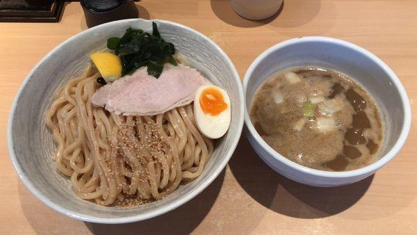 「濃厚塩つけ麺¥950+中盛¥100」@つけ麺 道の写真