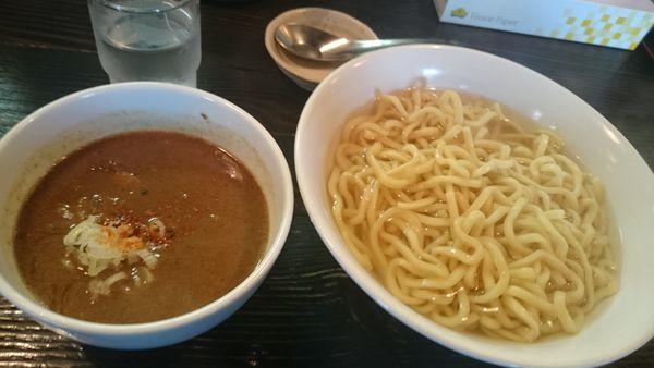 「あつもり 300g(800円)※極太ちぢれ麺に変更」@麺屋 和利道 waritoの写真