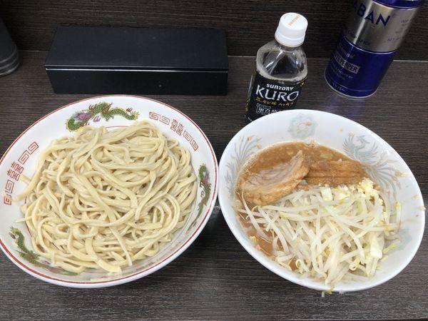 「つけ麺ニンニク少し」@ラーメン二郎 川越店の写真