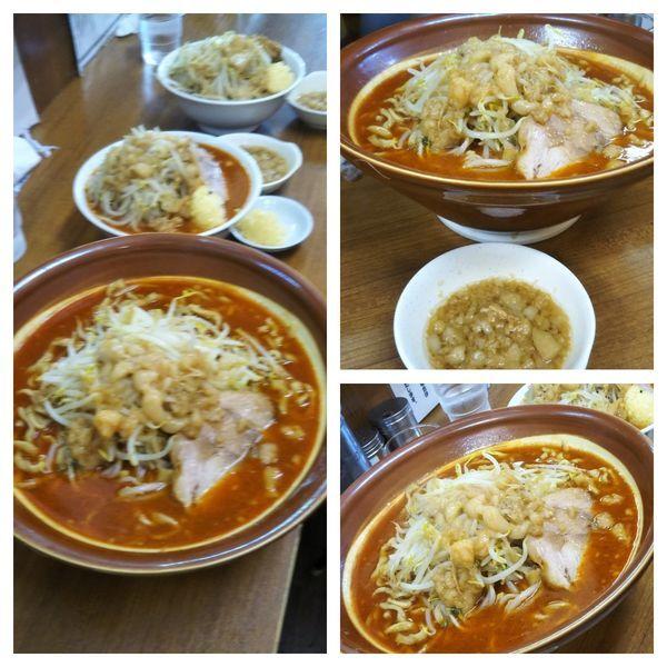 「【3連休限定】トムヤムクンラーメン+麺増し+麺増し」@ラーメンの店 どでんの写真