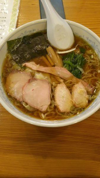 「ワンタン麺」@白河手打中華 賀乃屋の写真