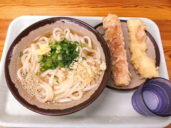 「冷やかけ中 天ぷら2個」@さか枝の写真
