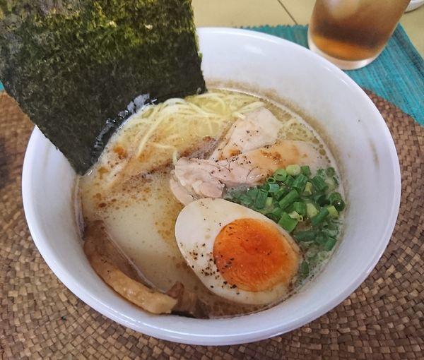 「濃厚鶏ポタそば(750円)」@龍門瀑の写真