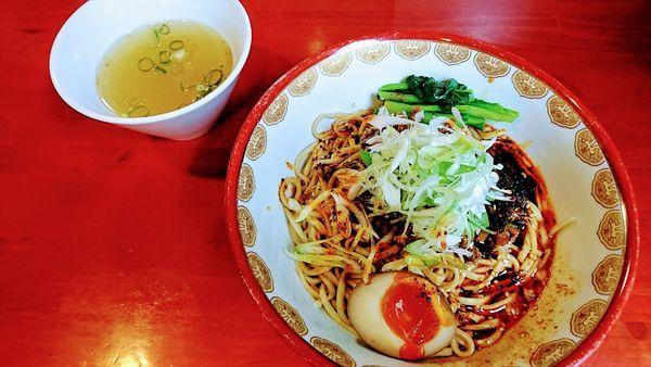 「汁なし担々麺(スープ付)」@讃岐ラーメン はまんど横須賀の写真