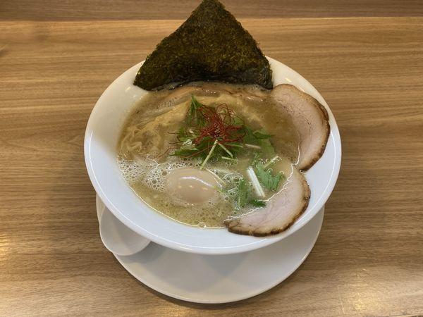 「特製濃厚鶏白湯(塩)1100円」@鳥白湯ラーメン はらやの写真