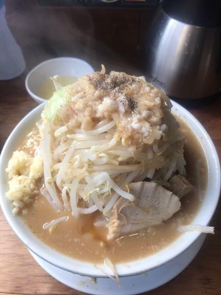 「豊田二郎(ランチサービス大盛)+もやし増し」@つけ麺・ラーメン 五十五番 豊田店の写真